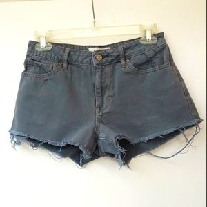 Pacsun Mid Rise Distressed Shorts